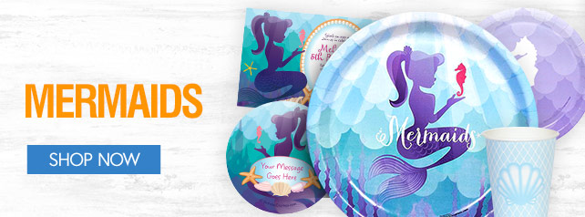 Shop For Mermaid Party Supplies