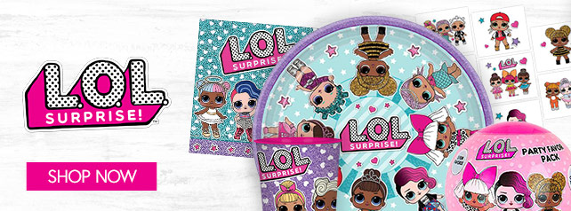 Shop For LOL Surprise Party Supplies