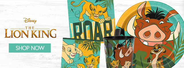 Shop For Lion King Party Supplies