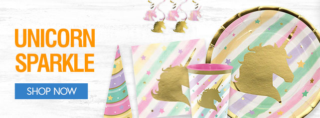 Shop For Unicorn Sparkle Party Supplies
