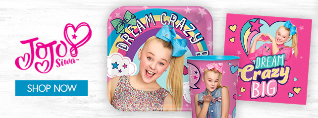 Shop For JoJo Siwa Party Supplies