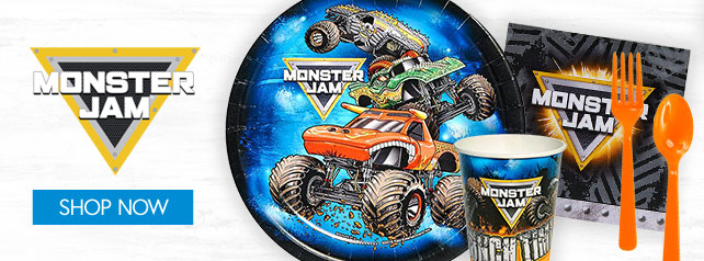 Shop For Monster Jam Party Supplies